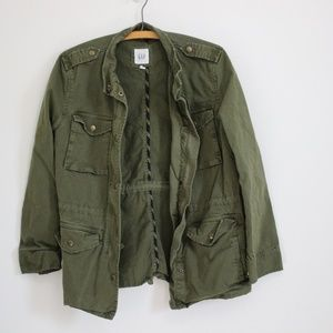 Gap Army Green Utility Jacket